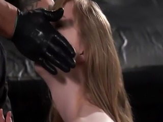 Bondage machine gag and spanking enema punishment xxx Back at Bruno&#3