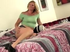 WANKZ- Faye Robins Drinks All of the Cum