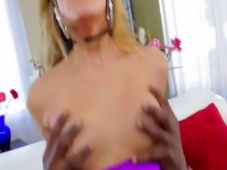 Natural tits and horny Chloe Amour gets banged by Lexingtons bbc