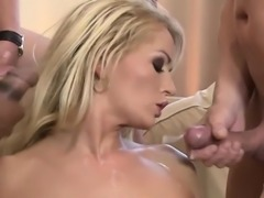 Adele Sunshine gets fucked in a gangbang