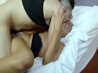 Blond gagging black cock and hardcore hairy anal xxx Bruno reached his
