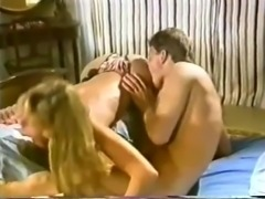 Pretty Retro Blonde Fuck & Suck-off
