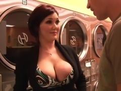 Hot MILF Claire Dames Cums