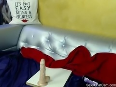 Curly Delice gets naked on live chatcam on SexyChatCam.com - Part 4