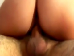 A horny amateur couple enjoys hardcore fucking in their bedroom