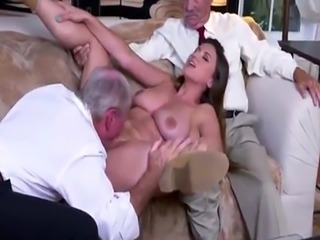 Teen old men rough xxx Ivy impresses with her large funbags and ass