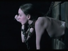 The master decides to give sexy slave Sierra a little taste of his hard cock....