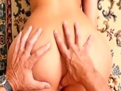 Brunette milk chill out with a hot super fucking Tamal!