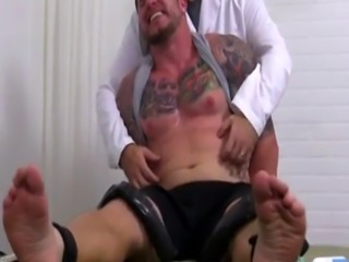 Gay porn testicles xxx Clint Gets Naked Tickle Treatment