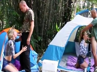 Hot teen flashes boobs first time Backwoods Bartering