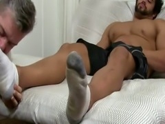 Twink socked feet movietures and kissing gay masters he blessed the