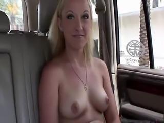 Saucy blonde spreads her dripping wet cunt