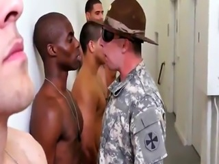 Amateur naked army men wanking video gay Yes Drill Sergeant!