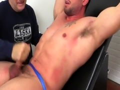 Hairiness gay legs buttock Casey More Jerked & Tickled