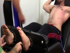 Big cock gay anal toy porn movie Dolan Wolf Jerked & Tickled