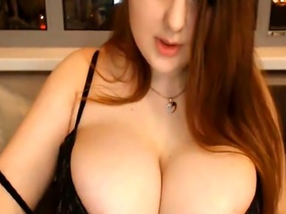 Cute BBW Huge Bouncing Boobs