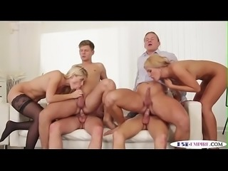 Bi jocks riding cocks and fucking pussies