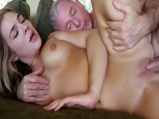 Blair Williams return the favor blowjob after eating her pussy