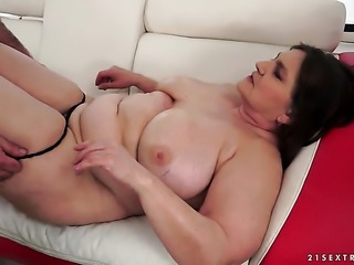 Brunette pornstar enjoys another hardcore sex session with hot dude