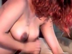 Pregnant redhead slut gives head in hotel room