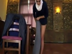 Arabic egypt porn xxx Hungry Woman Gets Food and Fuck