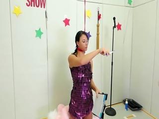 Bondage escape challenge and rough blind fold anal Talent Ho
