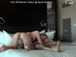 Step-Sis Begs For Aggressive Sex