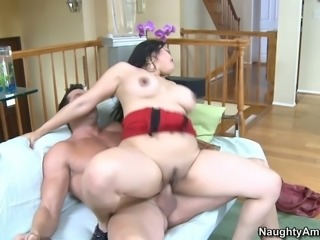 Chubby Asian sex doll with big boobs Mika Tan got her vagina stretched in...