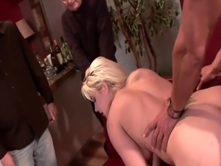 Real wife tastes cum while hubby watches