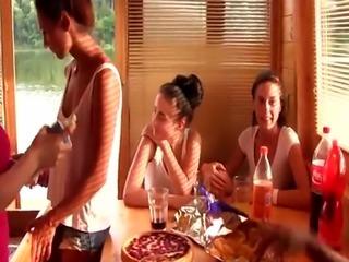 Dutch lesbians toying