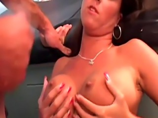 Desirable Daisy has her wet muff plugged