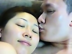 Cute small tit asian eaten out