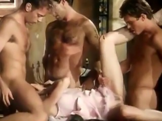 Horny Shalimar takes part in crazy orgy