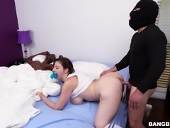 home invader fucks the house wife