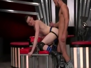 Condom gay underwear sex Sub orgy pig  Axel Abysse crawls on arms and