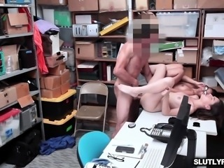 Arielle Faye and Jasmine Summers pussies railed