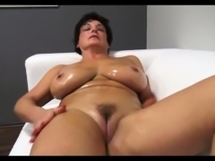 Lovely ma oils up and fucks Jane from dates25com
