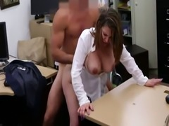 Big black cock double anal and anime girl Foxy Business Lady Gets Fuck