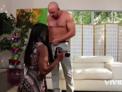 young black girl, gets fucked hard by her stepdad