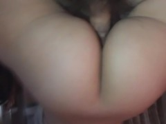 reverse cowgirl creampie cheating wife