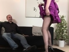 British mature doggystyled after blowjob