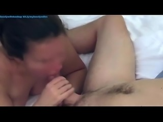 Cheating homemade squirting wife sucking cheating husband and loud wet fucking amateur