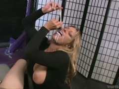Nasty Crack Whore Gets Cum in Mouth and Loves to Swallow
