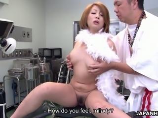 Lascivious chick Yuka Sawakita ends up having sex in the hospital