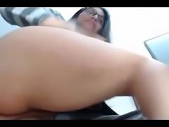 Horny Latin babe live creampie pussy masturbation cam sex