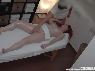You really only hear about men going to massage parlors to get some pussy. What you don't know is that a lot of women go to places like those, but with masseurs instead. They want their rubdown and some cock inside them. Hot women just like this one!