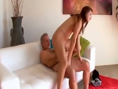 Teen Ariana Grand sextape with stepdad and his huge dong
