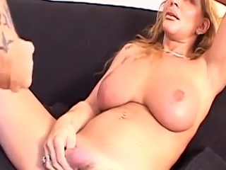 Busty shemales assfucking and cumming