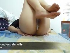 husband and slutwife creampie
