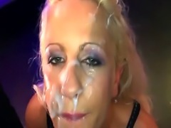 Blonde babe ultimate Bukkake Doll - German Goo Girls